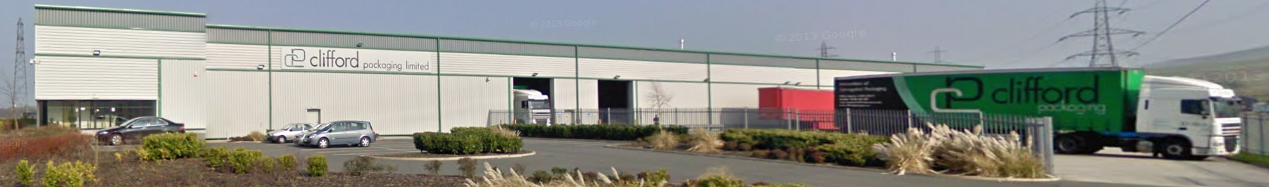 Clifford Packaging distribution facility