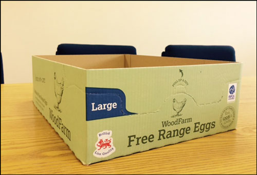 Shelf Ready Packaging - Eggs