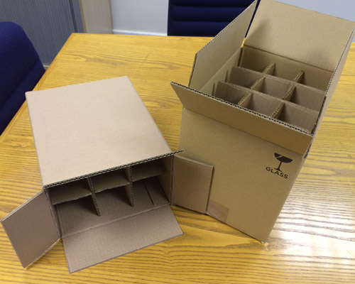 Pre-assembled carton dividers