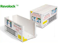 Shelf ready packaging - Revolock